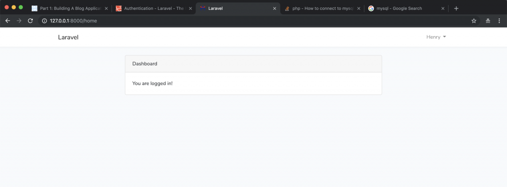 HLAB Laravel web framwork | Part III: Using Bootstrap 4 on our Blog