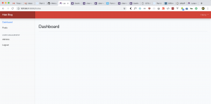 Part III: Using Bootstrap 4 on our Blog Admin Dashboard in Laravel 5.7 and Php 7.2