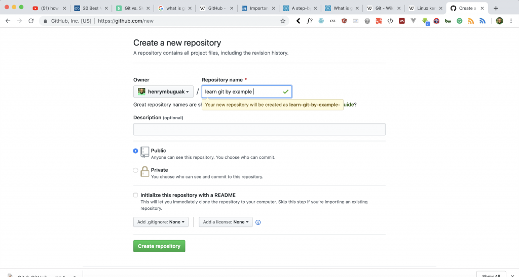 A Step by Step guide on how to use Git and Github | HLAB