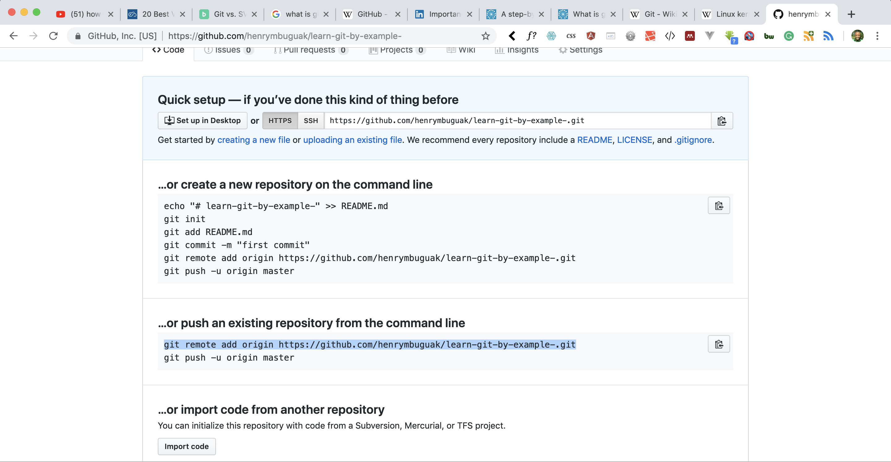 A Step by Step guide on how to use Git and Github