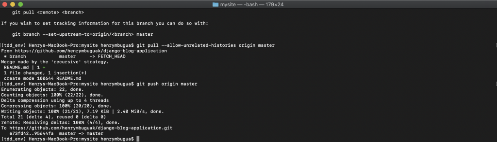 First commit success